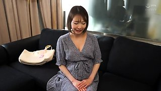 Pregnant Japanese wife has two guys satisfying her desires