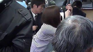 Japanese Hairy Pussy Hot Fucking on Bus