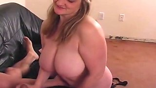 BBW Amateur And Titjob Time Expressing Arousement