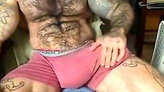 Str8 godzilla cock inside his underwear ll