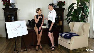Jane Wilde and another lesbians want to masturbate together