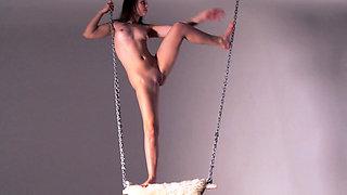 Kim Nadara flexible hot teen