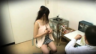Kinky doctor takes advantage of hot Asian moms in his office