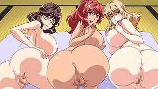 Cartoon wives suck and fuck