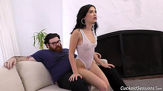 Hardcore rough anal fuck with a big black cock for Jane Wilde