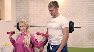 RELAXXXED - Rossella Visconti craves for cock at the gym