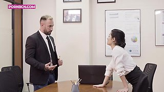 Teen Secretary With Her Mature Boss, Lesbians At The Office By 4k With Bianka Blue And Kitty Love