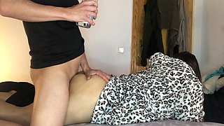 I force my teacher to give me ass