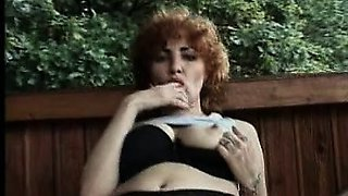 Here\'s another hot senior that you\'ll see flashing her big