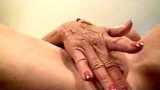 Pierced Nipples Granny Fingers