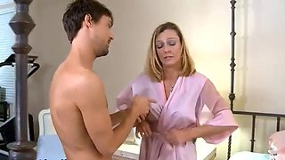 Young step son wants to fuck step mom