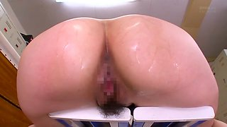 Yui Hatano in Female Teacher Without Panties part 4