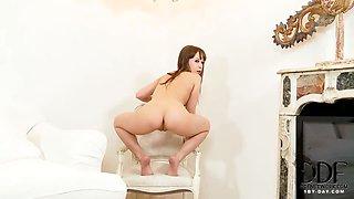 Bikini striptease by Grace