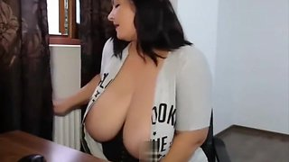 Big Boobs Mommy Smoking Again