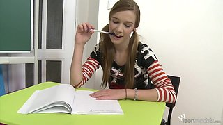 Alexis Crystal - Domi - Domi In Her School