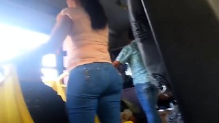 great ass on bus