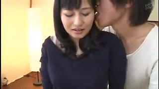 Japanese mom seduce boy