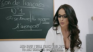 Brazzers - Big Tits at School -  Romance Lang
