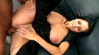 Sexy breasty EU mom Ava Addams in real foot fetish porn