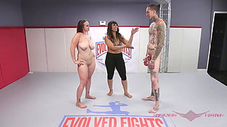 Bella Rossi rolls harder than ever in her wrestling match