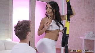 Oiled ou petite babe Lela Star gets her round ass fucked and creamed