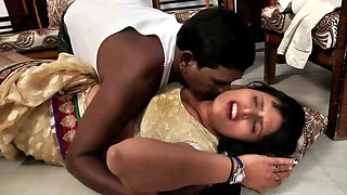South Indian Hot Aunty Has Romance with Friend's Husband