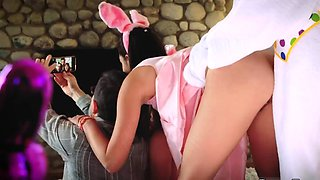 Girl an orgy hardcore xxx Uncle Fuck Bunny
