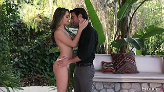 Killing hot girlfriend Kimmy Granger pleases her man by the pool and gets fucked