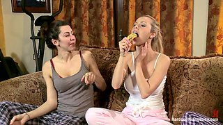 Truth or Dare  Jessie Rogers in her First Gangbang