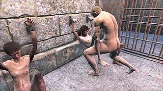 Fallout 4 - BDSM - prisoner to fuck