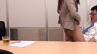 Yuria Ashina, Risa Murakami, Kyoka Mizusawa, ASUKA 2 in Beautiful Announcer Upskirt part 3