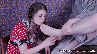 Anastasia Rose in Mouth Lessons - SlaveMouth