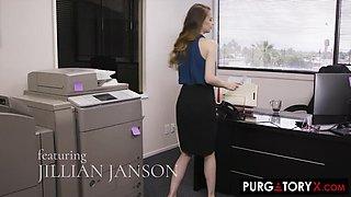 Anal in the Office with Jillian Janson