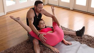Anal yoga session