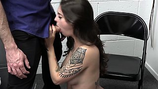 Teen suspect seducing and fucking a cop