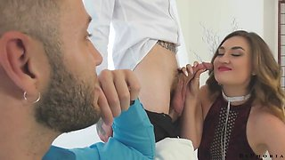 Free Premium Video Bisexual Couples Trade Partners & Turns Party Into Wild Orgy