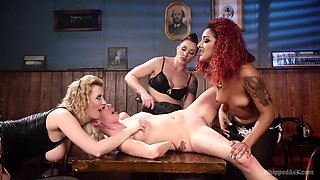 Best anal, fisting xxx movie with amazing pornstars Daisy Ducati, Mistress Kara and Cherry Torn from Whippedass