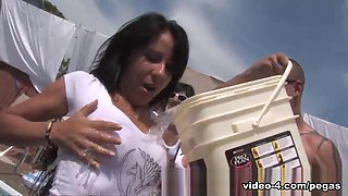 Alyson Queen  Sarah Vickers  Mimi Love in Wet T-shirt 2010 - PegasProductions