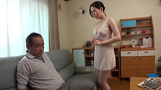 Father in law Make love with his son's beautiful Japanese wife-2