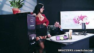 Big Tits at Work: My Boss Is A Creep