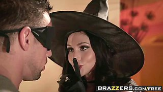 brazzers - real wife stories - dick or treat scene starring