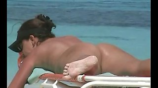 Amazing amateur pussies of nudist beach girls