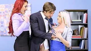 Brazzers - Big Tits at Work - Hungry For A Jo