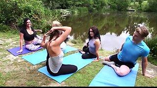 Erection during yoga