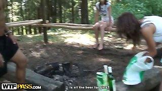 Horny chicks flashing