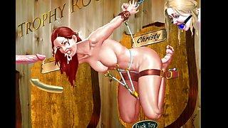 cartoon bondage fun
