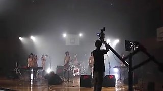 Cute teens from Japan make a butt naked music video