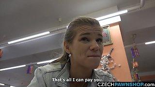 Desperate Czech Beauty Needs Money to fix car