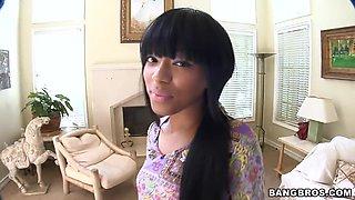 Really hot black chick named Tila