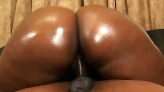Black BBW Tinah Oiled Up